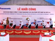 Panasonic expands factories in Binh Duong