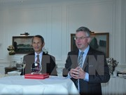 Get-together for European parliamentarians in Belgium