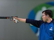 Hoang Xuan Vinh fails in World Cup's 50m pistol event