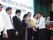HCM City establishes university headmasters' council