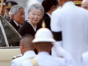 Japanese Emperor visits Thailand