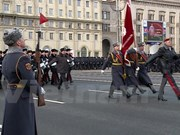 Public security minister attends Belarus's parade