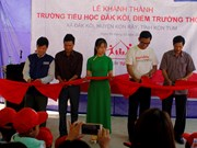 School for poor students inaugurated in Kon Tum