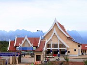Village demonstrates solidarity of Vietnamese, Lao youths