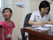 Rate of gastric disease in Vietnamese children growing