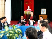 Leader notes development potential of Lai Chau's border district