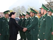 Dien Bien: Border guards commended for anti-crime, diplomatic efforts