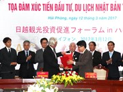 Hai Phong fosters investment, tourism links with Japan