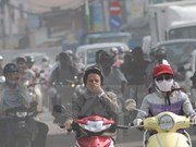 Air pollution in Hanoi reaches hazardous levels