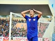 10-man Quang Ninh Coal lose to Home United at AFC Cup