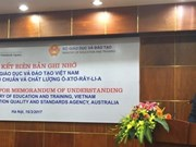 Australia supports Vietnam's online education