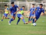 Chinese Taipei team arrives for friendly match