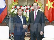 President hosts Lao Minister of Public Security