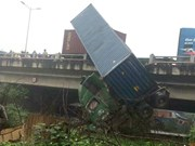 Four road accidents leave 8 dead at weekend
