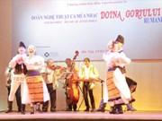 Art troupe helps promote Vietnam-Romania cultural exchanges