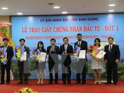 Binh Duong takes lead in foreign investment attraction