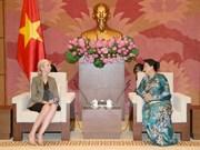 NA Chairwoman, Norwegian diplomat laud bilateral ties