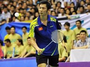 Hanoi int'l badminton tourney kicks off
