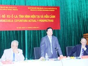 Forum on Venezuela situation held in Hanoi