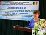 Belgium assists Ninh Thuan in river basin management