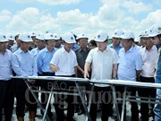 Deputy PM requires faster construction of Song Hau power centre