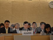 Vietnam attends UN Human Right Council's 34th session