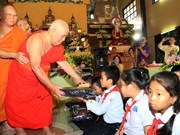 Renowned Vietnamese monk commemorated in Laos