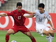 U20 Vietnam striker featured on FIFA website
