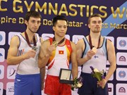 Vietnam pockets golds at gymnastics, taekwondo championships
