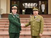Vietnam, Cuba foster defence relations