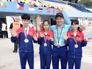 Vietnam tops regional champs for young athletes