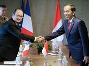 Indonesia, France pledge stronger cooperation in various fields