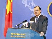 Spokesperson asks for respect for Vietnam's sovereignty in East Sea