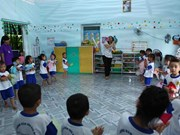 Vietnamese kindergartens suffer from lack of support