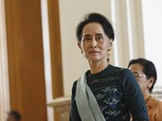 Myanmar state counselor vows to build federal union with peace