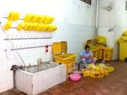 Many health clinics lack standard wastewater treatment
