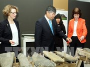 Vietnamese archaeological artefacts displayed in Germany