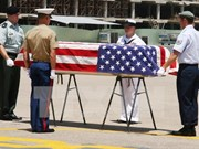 Remains of US missing servicemen returned