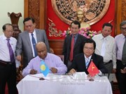 Tien Giang, Palau sign seafood cooperation agreement