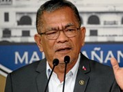 Philippine Interior Secretary removed