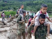 Condolences to Colombia, Peru over losses in landslides