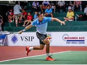 Top Vietnamese tennis ace jumps 39 spots in world rankings