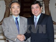 Japanese prefecture boosts cooperation with HCM City