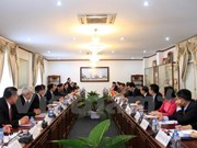 Vietnamese, Lao Presidential Offices cement relations