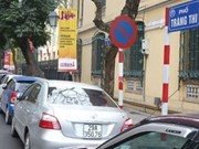 Hanoi to set up public parking on some streets