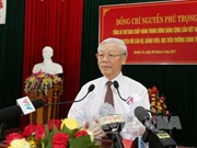 Party chief urges Quang Tri to fully tap resources for development