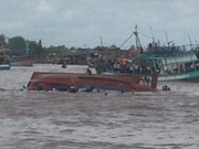 Boat capsizes, 2 killed in Nghinh Ong fest tragedy