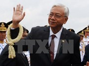 Myanmar President begins visit to China