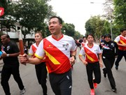 Hanoi relay launched in response to SEA games 29, Para Games 9