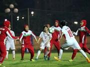Vietnam beats Iran 6-1 in Women's Asian Cup qualifier